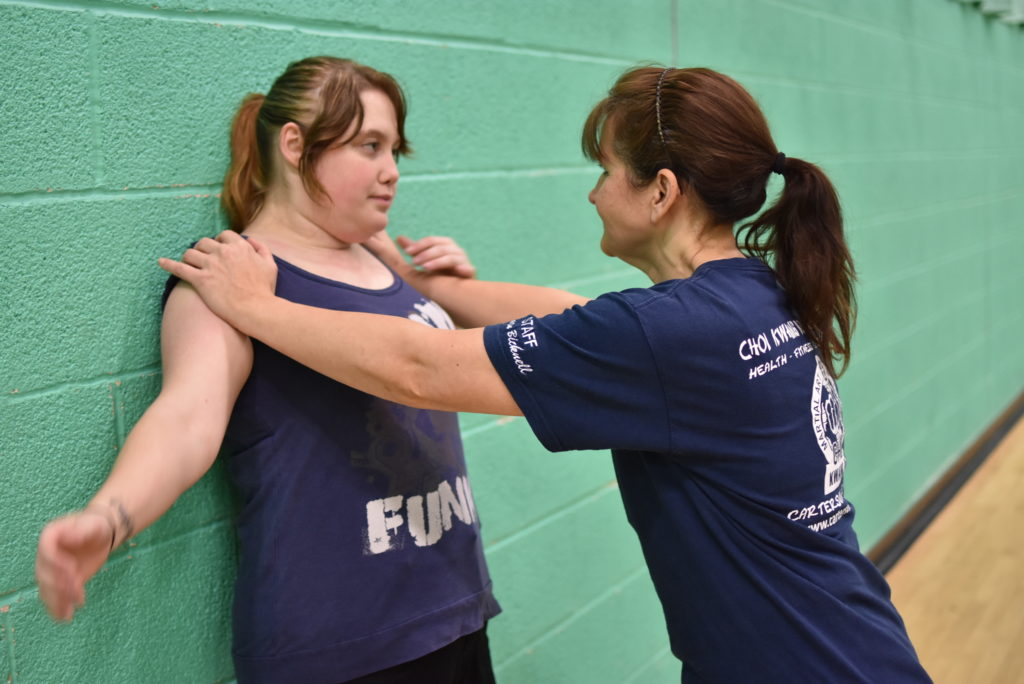 women's self defence, self defence classes for women Portsmouth